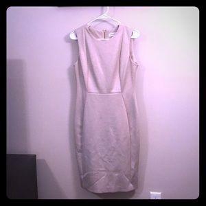 Calvin Klein Women's work dress size 8 taupe